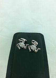 【送料無料】ブレスレット シルバースターリングシルバーカフリンクスgemelli trinacria in argento 925 triskelion sterling silver cufflinks