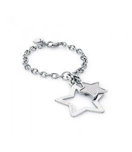 【送料無料】ブレスレット スチールブレスレットスタームーンライトbracciale acciaio stella sagapo moonlight sml12 0100 vp35