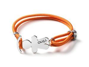【送料無料】ブレスレット ティーノオレンジtino generation bracciale elastico whats your colour arancione