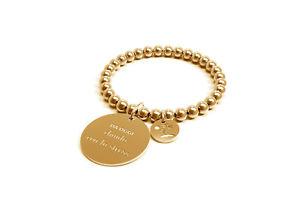 【送料無料】ブレスレット カフストレスゴールドクラシックコレクションbracciale donna 10 buoni propositi chiudo con lo stress gold collezione classic