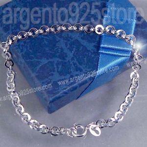 【送料無料】ブレスレット ブレスレットチェーンシルバークラシックbracciale catena argento 925 classic olimpic ac