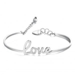 【送料無料】ブレスレット カフswt13 bracciale donna sagapo write swt13 love