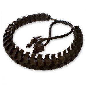 【送料無料】ブレスレット ヘビカフスケルトンマットブラックバイカーvera serpenti ossa bracciale scheletro ossa serpente nero opaco biker