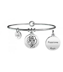 【送料無料】ブレスレット カフネイチャーピンクパッションオリジナルkidult bracciale nature rosa passione 231610 originale nuovo