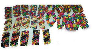 【送料無料】ブレスレット デザインブレスレットjoblot di 60 pz misti colori e design bracciali in legnonuovo all ingrosso