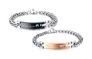 【送料無料】ブレスレット トルクカフブレスレットカップル2 bracciale coppia braccialetto uomo donna love amore fidanzati paio idea regalo