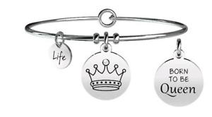 【送料無料】ブレスレット ブレスレットスチールシンボルコロナkidult bracciali acciaio symbols corona carisma 731257
