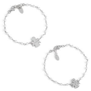 【送料無料】ブレスレット カフアーメンシルバーペンダントbracciale donna amen brbb brbbz in argento 925 con perle e ciondolo angelo