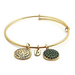 【送料無料】ブレスレット ブレスレットコレクションエメラルドゴールドchrysalis braccialetto fortuna raccolta pu smeraldo oro
