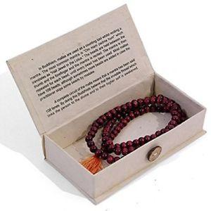 【送料無料】ブレスレット ビーズビーズビーズハムmala beads buddhist mallah bead rosary beads om mani padme hum by x4j