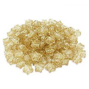 【送料無料】ブレスレット ビーズプラスチックポニーゴールドbeads unlimited glitter in plastica star pony, oro, 13mm q6n