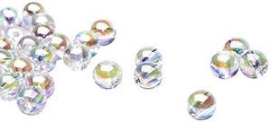【送料無料】ブレスレット ビーズラウンドビーズプラスチックbeads unlimited perline rotonde iridescenti in plastica, 8 mm m4e