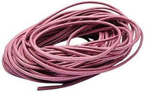 【送料無料】ブレスレット ビーズトンパックピンクbeads unlimited 1,5 mm perizoma in cotone, confezione da 10 m, rosa p8j