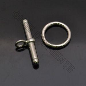 【送料無料】ブレスレット シルバーミリchiusura a t in argento 925 da t 24 mm cerchio 13 mm anella 5 mm