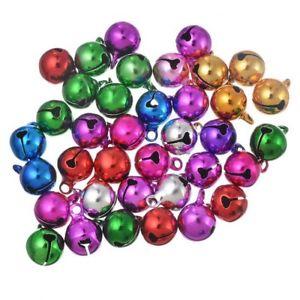 【送料無料】ブレスレット ランダムカラフルクリスマスベルチャームペンダントsouarts random mixed colorful christmas bell charm pendente creazione di g8u
