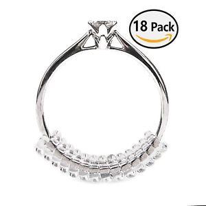 【送料無料】ブレスレット ヴァンクールサイズリングリングvancool 18 pzring size adjuster stringi anelli con panno per pulire c6z
