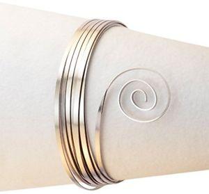 【送料無料】ブレスレット クリエイティブアルミフラットワイヤーミスティローズvaessen creative alluminio filo piatto, genitori, misty rosa, 3,5 x 1 mm b2j