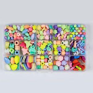 【送料無料】ブレスレット グルジアアクリルビーズステンドグラスレタービーズpsmgoods 15 georgia colorate con perline in acrilico, diy letter beads m6x