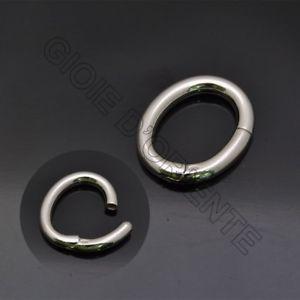 【送料無料】ブレスレット シルバーchiusura ovale 20x23 mm in argento 925