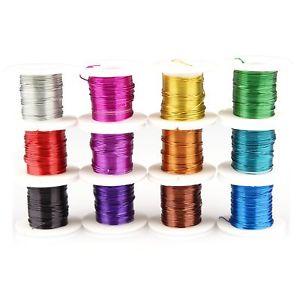 【送料無料】ブレスレット creacraft set di filo metallico 12 colori in rotoli per 3 metri 36 i5j