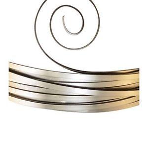 【送料無料】ブレスレット クリエイティブアルミフラットワイヤーvaessen creative alluminio filo piatto, genitori, antracite, 10 x 1 mm l1w