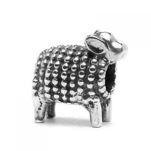【送料無料】ブレスレット シルバーラムビードtrollbeads bead in argento agnellino tagbe10059