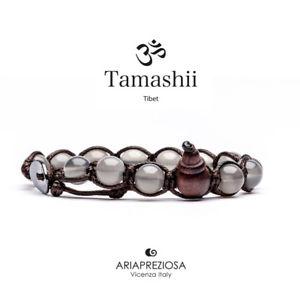 【送料無料】ブレスレット チベットカフtamashii agata ghiaccio bracciale tibetano bhs90024