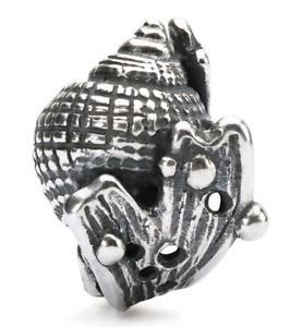 【送料無料】ブレスレット シルバーシェルオリジナルビーズtrollbeads original beads in argento conchiglia tagbe10196