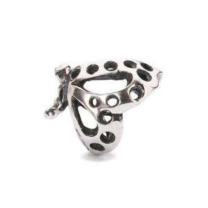 【送料無料】ブレスレット オリジナルビーズシルバーバタフライダンスtrollbeads original beads argento farfalla danzante tagbe10102