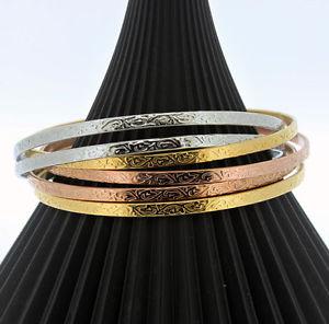 【送料無料】ブレスレット ステンレススチールブレスレットセットacciaio inossidabile restringere sei braccialetto set