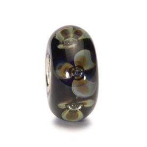 【送料無料】ブレスレット オリジナルガラスビーズインディゴtrollbeads original beads vetro fiore indaco tglbe10078