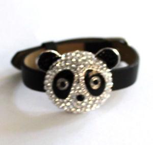 【送料無料】ブレスレット バトラーウィルソンクリスタルパンダヘッドストラップブレスレットbutler and wilson crystal one large panda head strap bracelet