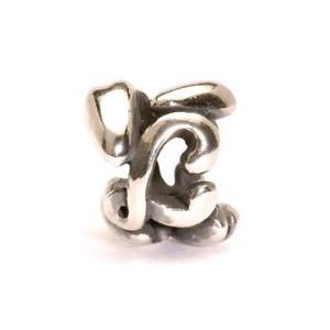 【送料無料】ブレスレット シルバーオリジナルビーズtrollbeads original beads in argento lettera l tagbe10071