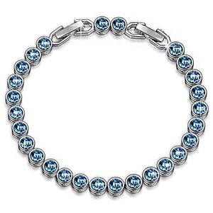 【送料無料】ブレスレット スワロフスキークリスタルブレスレットsusan y ocean dream braccialetto per donne con cristalli swarovski brevetto design