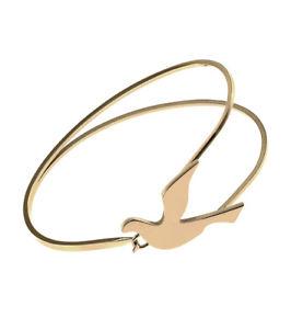 【送料無料】ブレスレット ラベルブレスレットbracciale con colomba edblad gold nuovo con etichetta