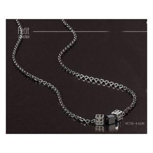 【送料無料】ブレスレット シルバーネックレスプチコレクションcollana brosway petit collection in argento pc110