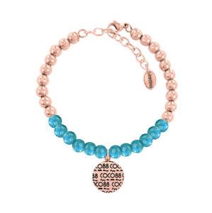 【送料無料】ブレスレット ココステンレススチールブレスレットコレクションcoco 88 donna bracciale elemental collection 8cb14011 in acciaio inox