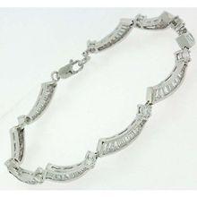 【送料無料】ブレスレット ブレスレットsplendido argento sterling r p clr cz bracciale