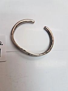 【送料無料】ブレスレット ソリッドシルバーブレスレットbraccialetto in argento massiccio per bambini ref37813