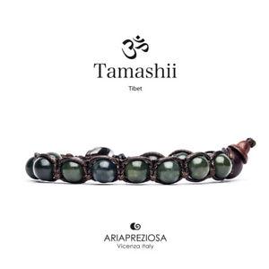 【送料無料】ブレスレット カフチベットtamashii bracciale tibet etno monaci buddhisti giada bhs900106