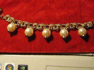 【送料無料】ブレスレット アガサnuova inserzionebracelet vintage signe agatha perles