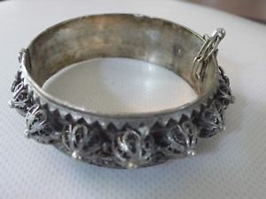 【送料無料】ブレスレット ブレスレットアルジェントマッシフancien bracelet berbre en argent massif poinonn
