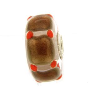 【送料無料】ブレスレット オリジナルガラスビーズtrollbeads original beads vetro unico tr12817