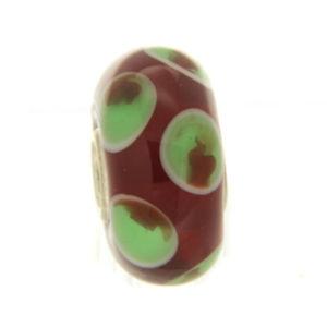 【送料無料】ブレスレット オリジナルガラスビーズtrollbeads original beads vetro unico tr12819
