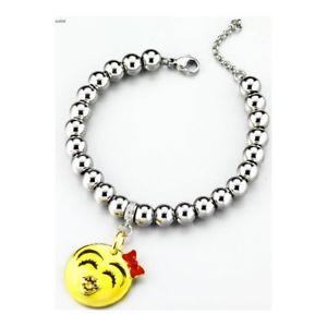 【送料無料】ブレスレット スチールブレスレットスマイルbracciale acciaio dimmijewels emoticons smile riempimi di baci dmsmrb