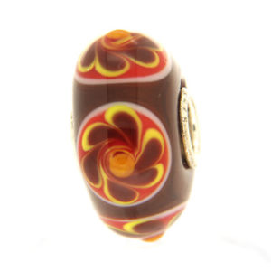 【送料無料】ブレスレット オリジナルガラスビーズtrollbeads original beads vetro unico tr12601