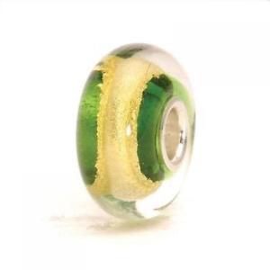 【送料無料】ブレスレット ガラスハートチャクラビードtrollbeads bead in vetro chakra del cuore tglbe20042