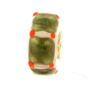 【送料無料】ブレスレット オリジナルガラスビーズtrollbeads original beads vetro unico tr12707