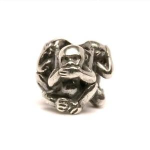【送料無料】ブレスレット シルバーサルオリジナルビーズtrollbeads original beads in argento tre scimmie tagbe20092
