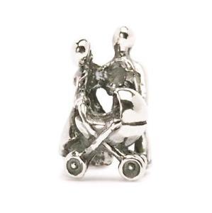 【送料無料】ブレスレット オリジナルビーズシルバーtrollbeads original beads in argento cuore di famiglia tagbe20034